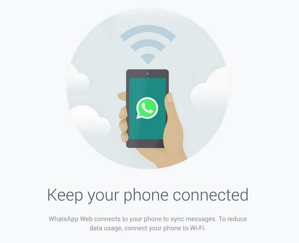 WhatsApp on PS: Keep your phone connected