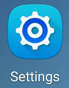How to update Android - Settings icon