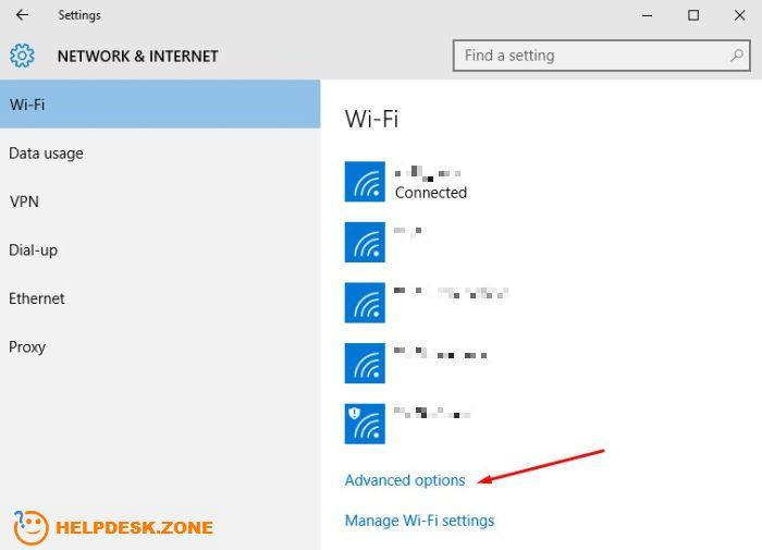 Stop Windows 10 updates via Wi-Fi settings (slide one)