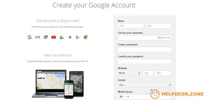 How make a Google account (Gmail)
